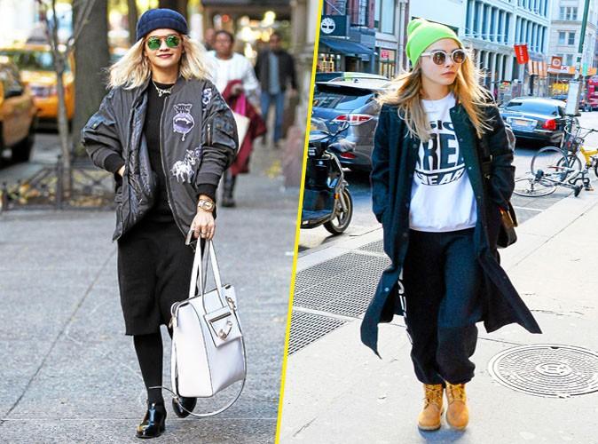 Overdose de swag: Rita Ora et Cara Delevingne