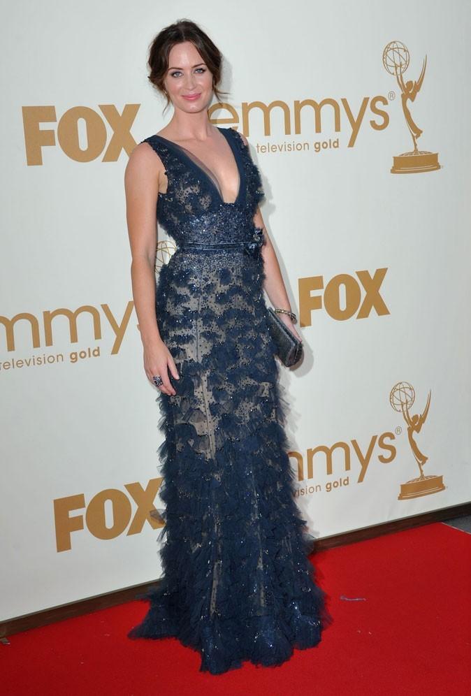 Tout ce qui brille : la robe en tulle et pailettes Elie Saab d'Emily Blunt !