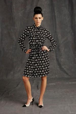 Liberty Ross pour la collection pré-automne 2015 de Moschino