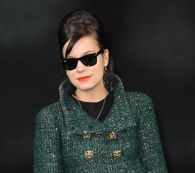 "Mode : Lily Allen lance sa collection de prêt-à-porter vintage ""Lucy in Disguise"" !"