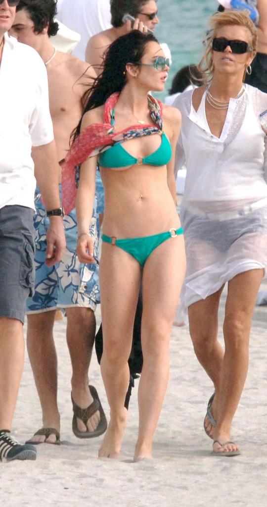 Lindsay Lohan en 2010
