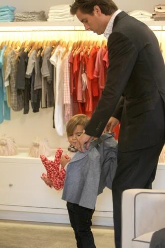 Séance shopping entre hommes!