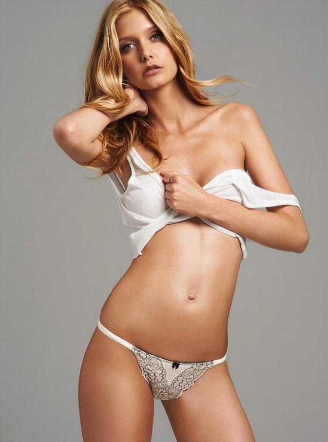 Mathilde Frachon pour Victoria's Secret