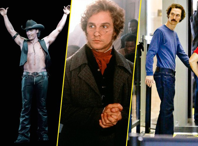 Matthew McConaughey , de Magic Mike à Dallas Buyers Club, le roi des métamorphoses ?