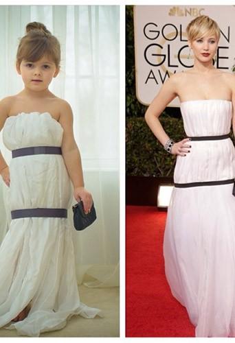 La robe de Mayhem VS la robe de Jennifer Lawrence !