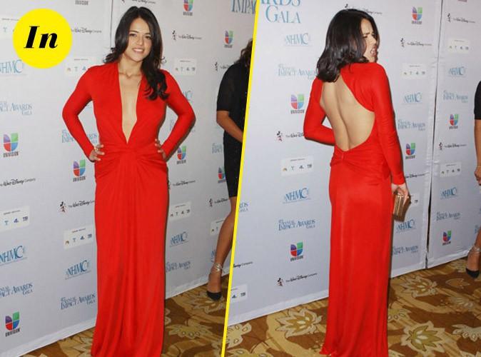 Le look de Michelle Rodriguez à copier !
