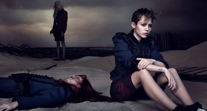 Miley Cyrus : une égérie à la moue boudeuse pour Marc Jacobs !