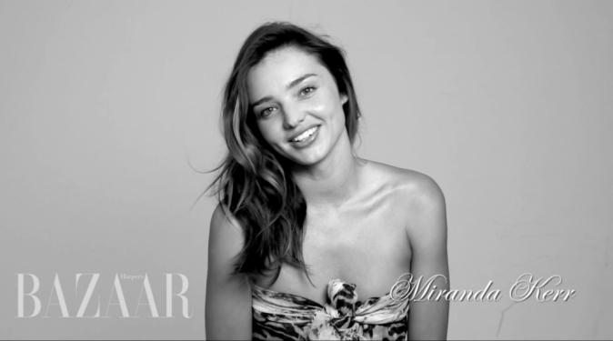 Mirand Kerr pour Harper's Bazaard septembre 2012 !