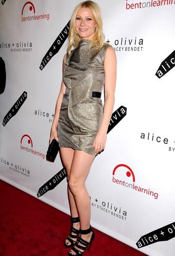 Gwyneth Paltrow en Victoria Beckham