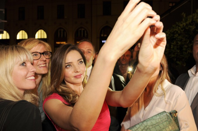 Miranda Kerr le 29 juillet 2014 à Munich