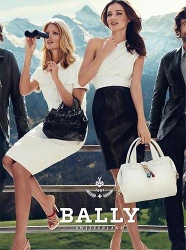Miranda Kerr pour la nouvelle campagne Bally !