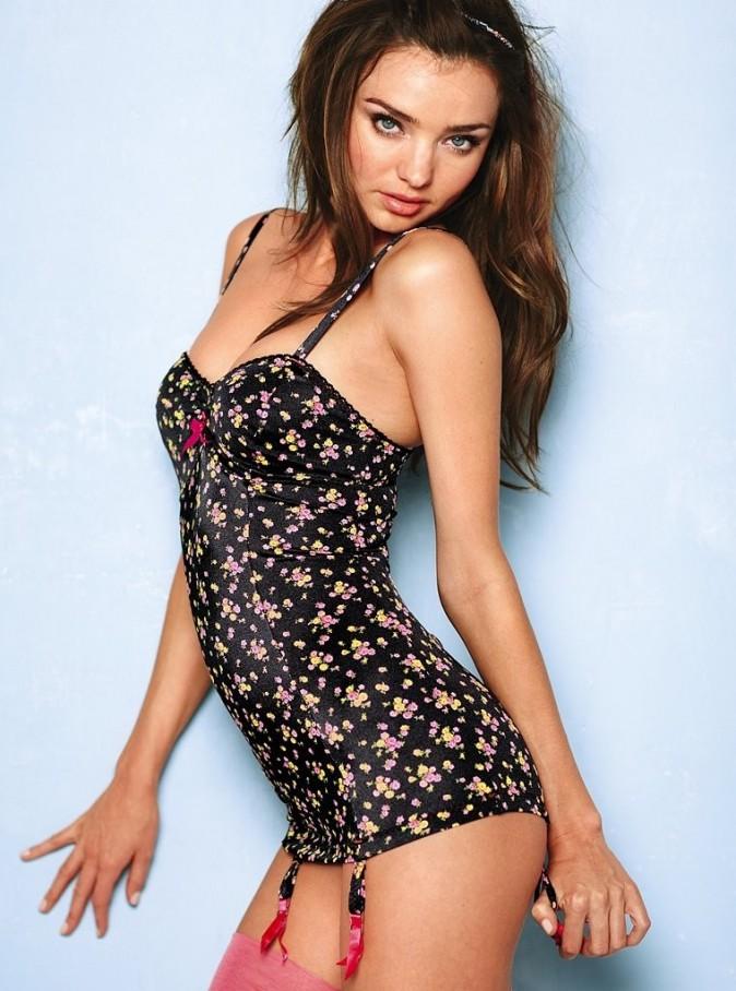 Miranda Kerr pour une campagne Victoria's Secret