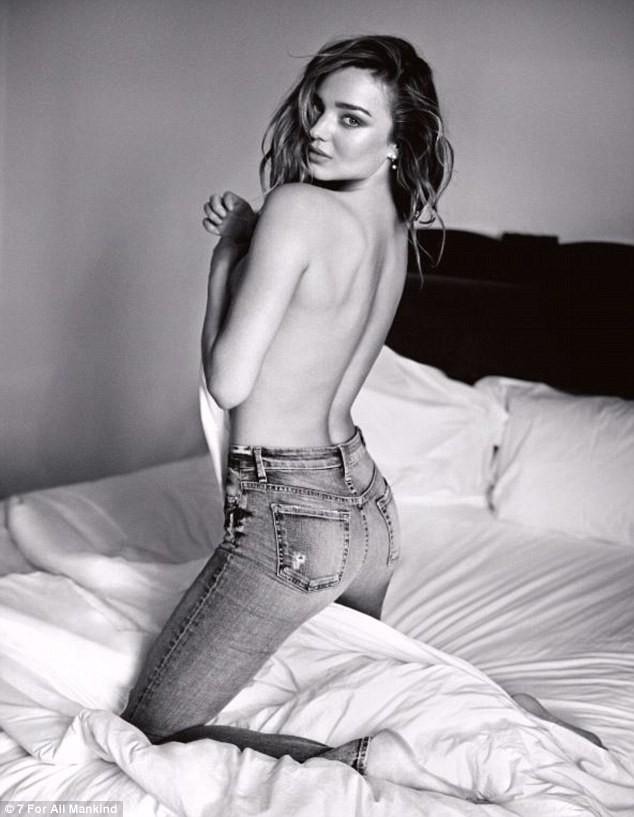 Miranda Kerr pour Seven For All Mankind