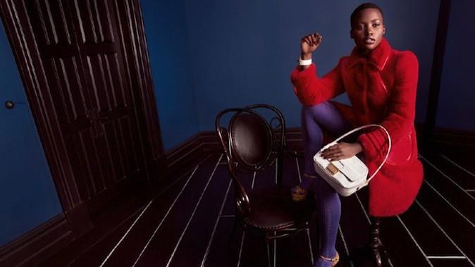 Lupita Nyong'o pour Miu Miu