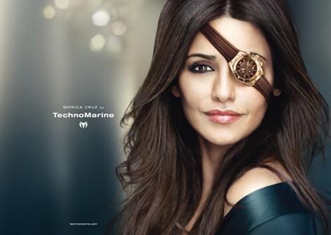 Monica Cruz pour la nouvelle campagne TechnoMarine