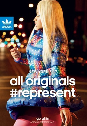 Nicky Minaj pour Adidas is all in !