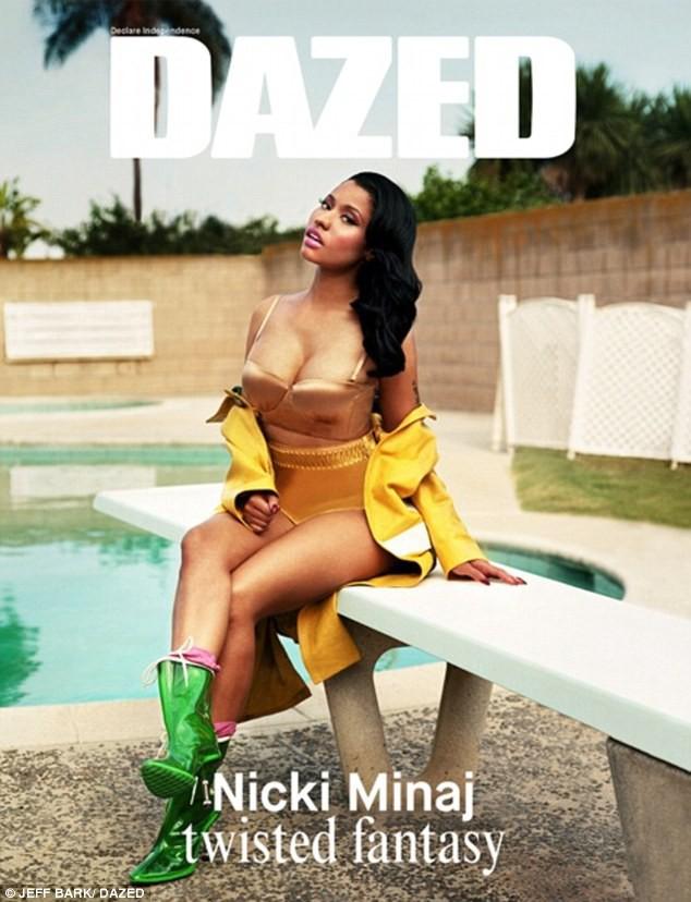 Nicki Minaj pour Dazed & Confused