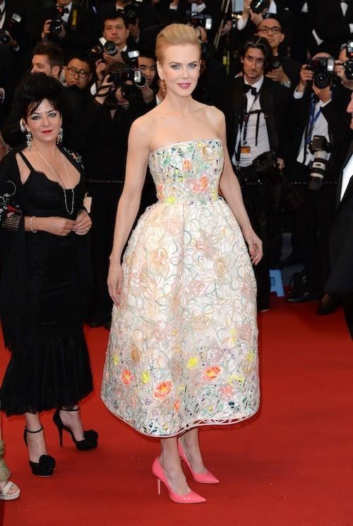 Nicole Kidman au festival de Cannes et ses Jimmy Choo !
