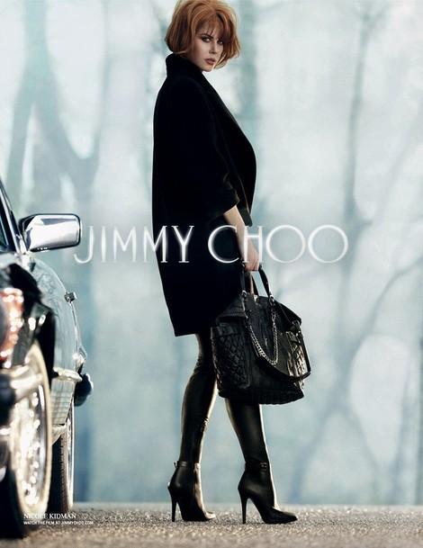 Mode : Nicole Kidman se la joue rousse et sauvage pour Jimmy Choo !