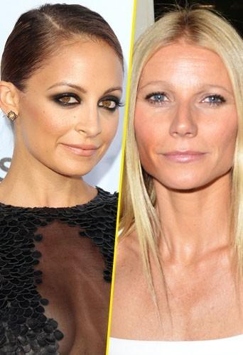 Gwyneth Paltrow et Nicole Richie