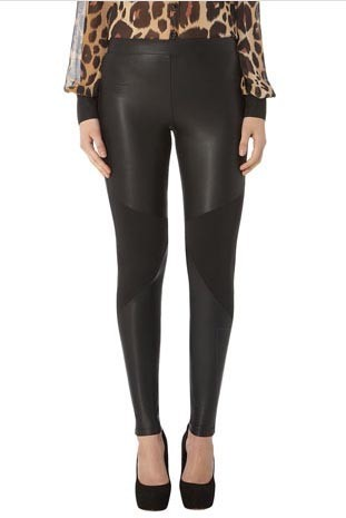 Legging en similicuir à 35€