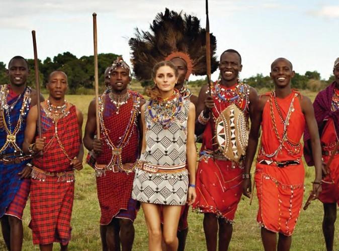 Olivia Palermo lance une ligne de sandales d'été dans le cadre du Maasai Pikolinos Project.
