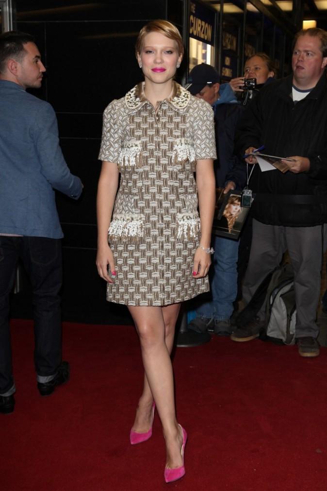 Léa Seydoux, le 13 octobre 2012