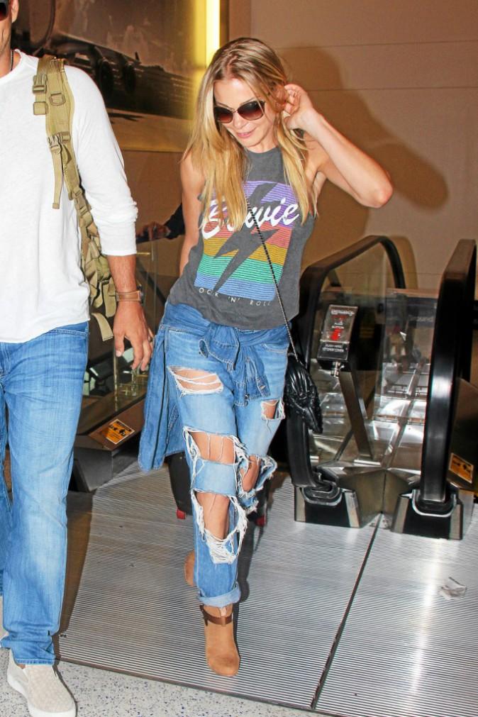 Le jean lacéré