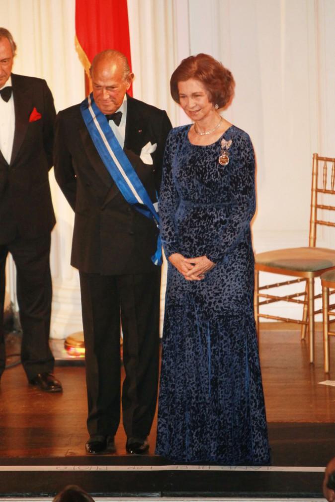 Avec la Reine Sofia d'Espagne