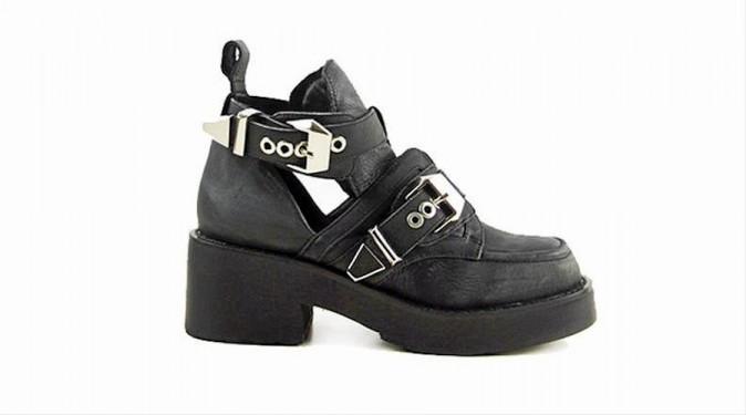 Boots à empiècements, Jeffrey Campbell, à retrouver sur Nastygal.com 129 €