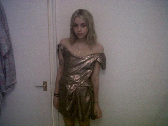 Peaches Geldof, plus mince que jamais dans sa robe Vivienne Westwood !