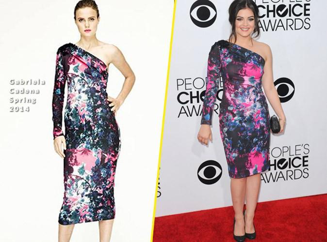 Lucy Hale en Gabriela Cadena : Superbe dans son look floral revisité !
