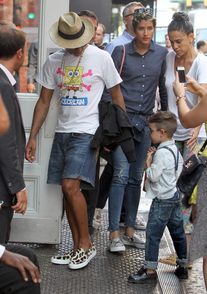 """Mode: Pharrell Williams: """"Je suis fan de Bob l'éponge depuis plusieurs années!"""""""