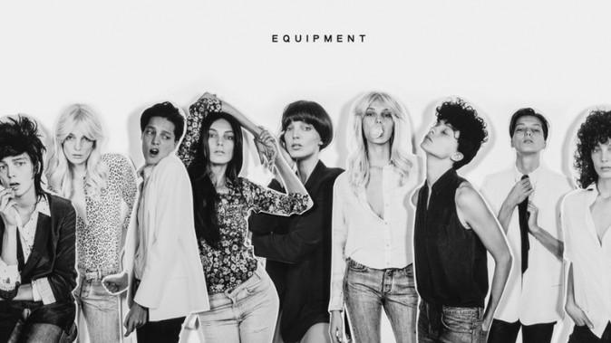 Mode : Photos : 11 nuances de Daria Werbowy pour Equipment !