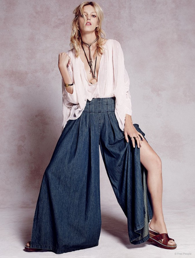 mode photos anja rubik douce hippie chic pour free people. Black Bedroom Furniture Sets. Home Design Ideas