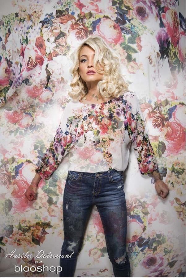 Mode : Photos : Aurélie Dotremont : Nouveaux clichés sexy pour Blooshop !