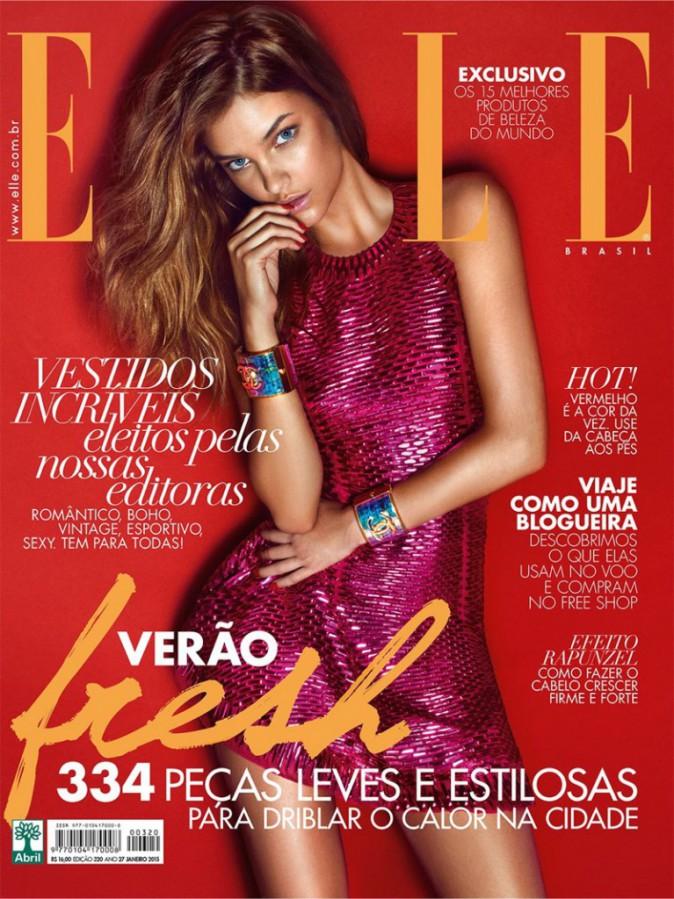Mode : Photos : Barbara Palvin : la cover girl de Elle pose pour Terry Richardson !