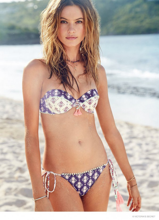 Mode : Photos : Behati Prinsloo : douce et sexy pour la ligne de bikinis Victoria's Secret !