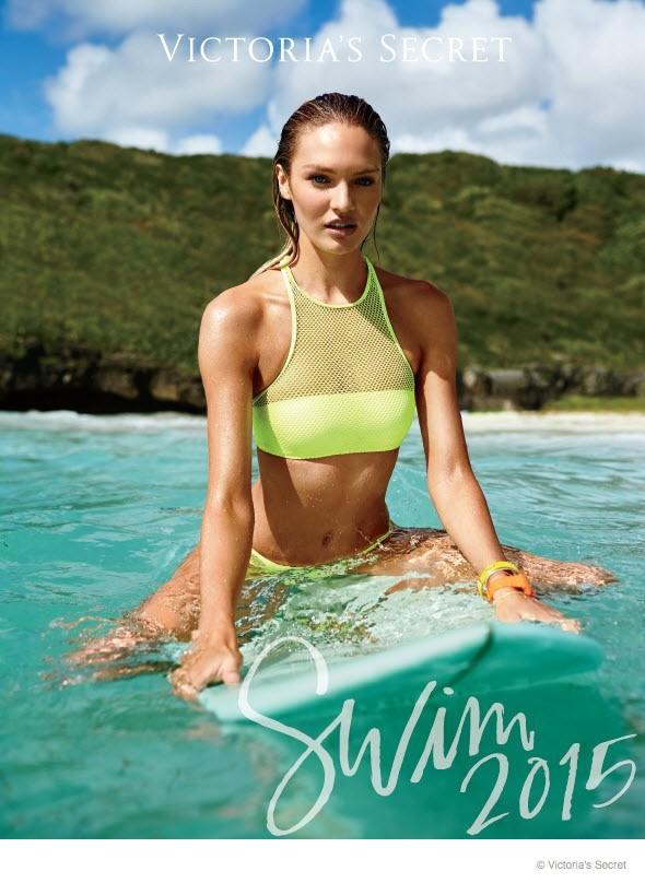 Mode : Photos : Candice Swanepoel : Sublime naïade pour la collection Swim de Victoria's Secret !