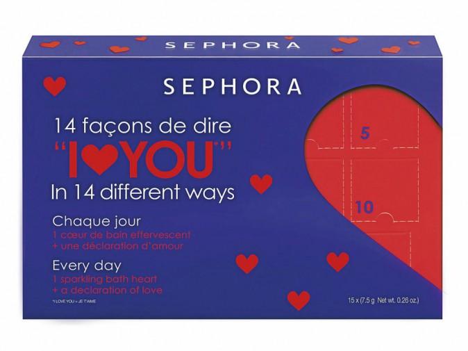 Cœurs de bain effervescents, Sephora 13 €