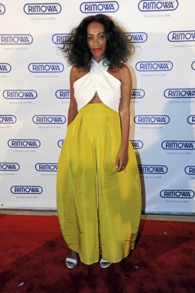 Silhouette pulpeuse pour Solange Knowles