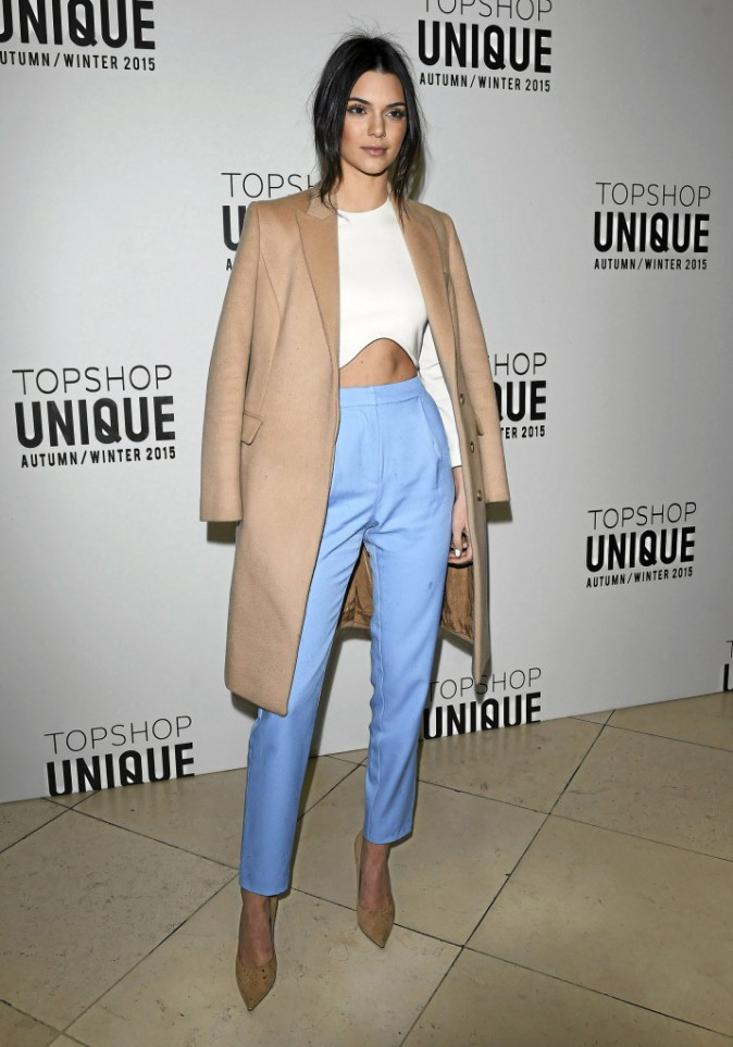 Silhouette skinny pour Kendall Jenner