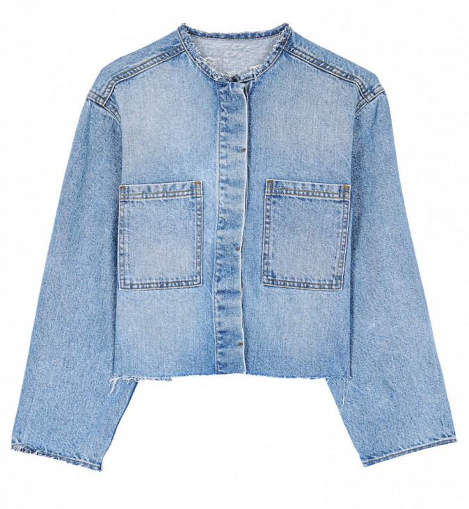 Le denim : Chemise en jean, Asos 50€