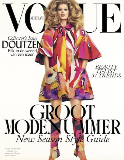 Mode : Photos : Doutzen Kroes elle enchaîne les couvertures