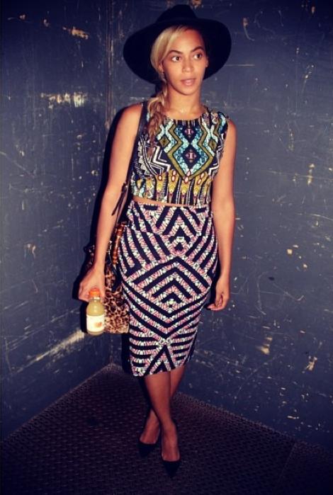 Mode : Photos : Entre Beyoncé et Topshop, c'est l'amour fou !