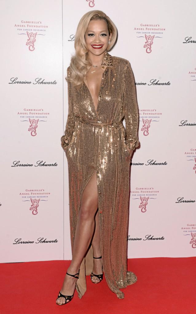 Rita Ora : Look nuit