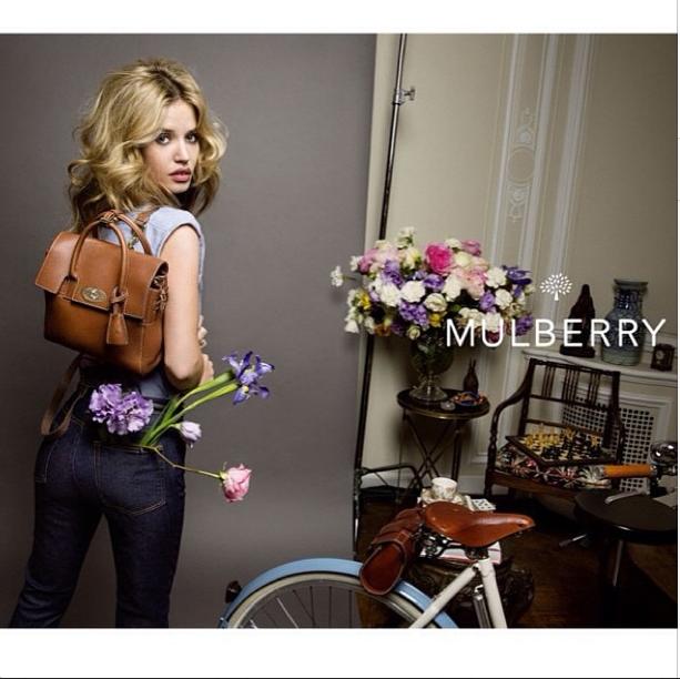 Georgia May Jagger : bobo chic et romantique pour Mulberry !