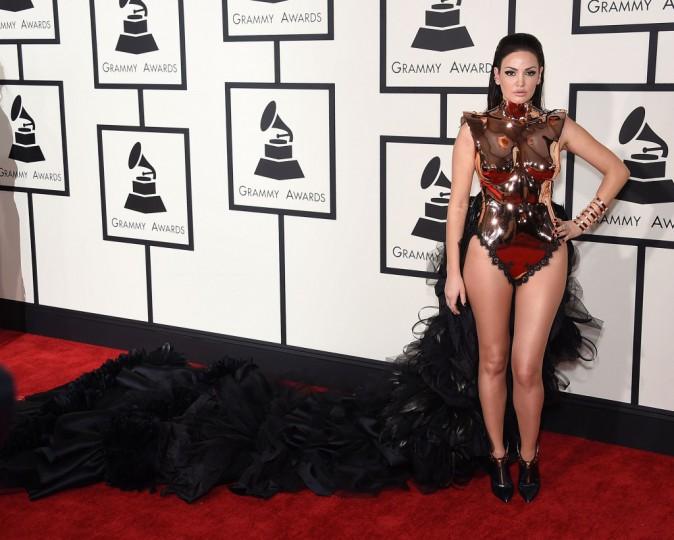 Mode : Photos : Grammy Awards 2015 : Madonna, Rihanna, Charlie XCX retour sur les plus gros flop !