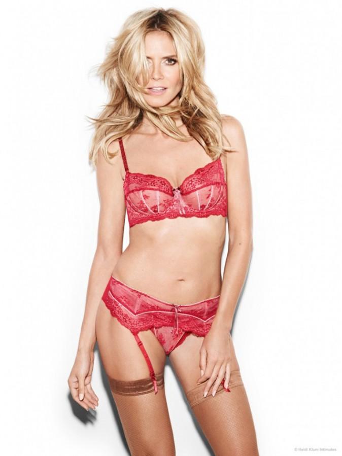 Mode : Photos : Heidi Klum : à 41 ans, elle pose plus sexy que jamais pour sa marque de lingerie !