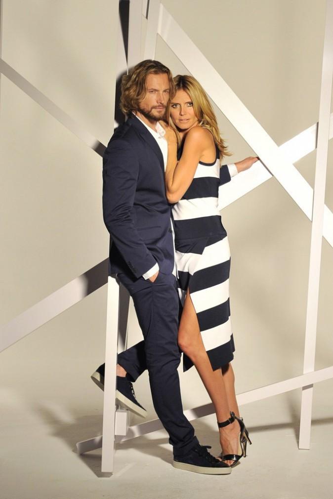 Heidi Klum et Gabriel Aubry pour Macy's